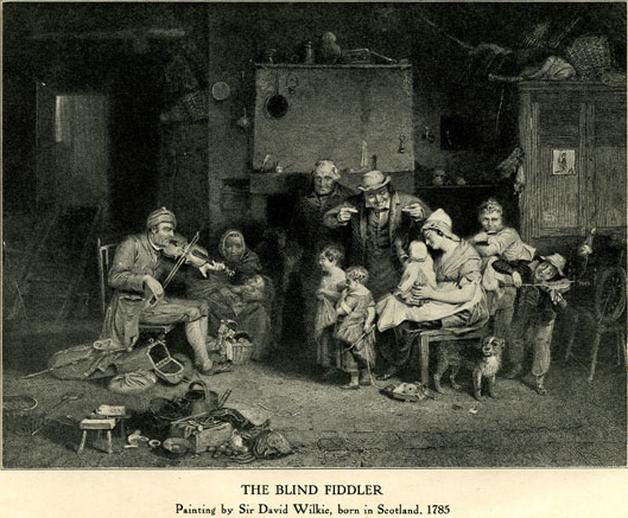 The blind fiddler / David Wilkie