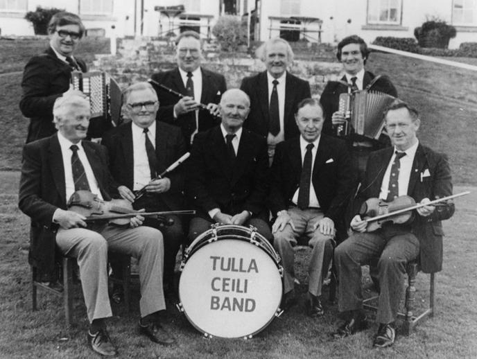Tulla Céilí Band / [unidentified photographer]