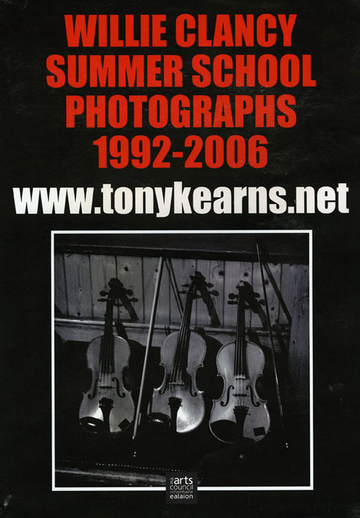 Willie Clancy Summer School photographs, 1992-2006, website promotional poster