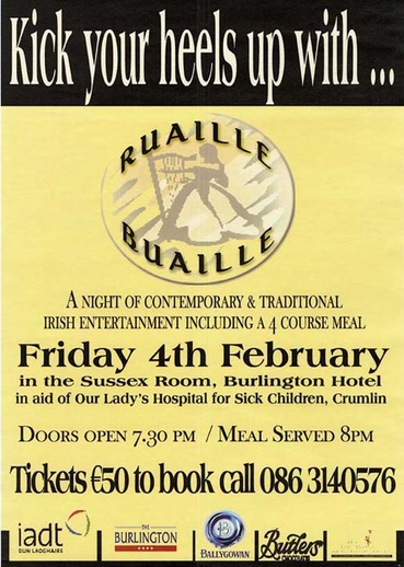 Ruaille Buaille, group, event poster