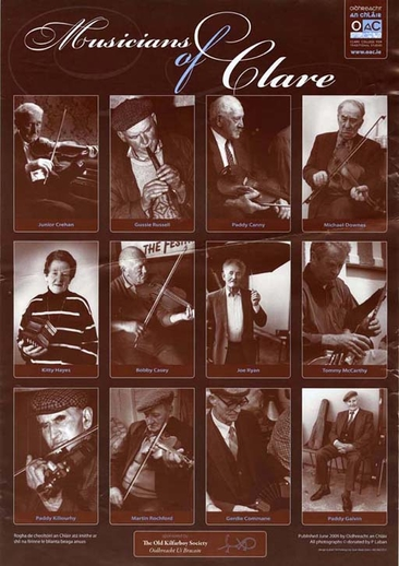 Musicians of Clare, poster
