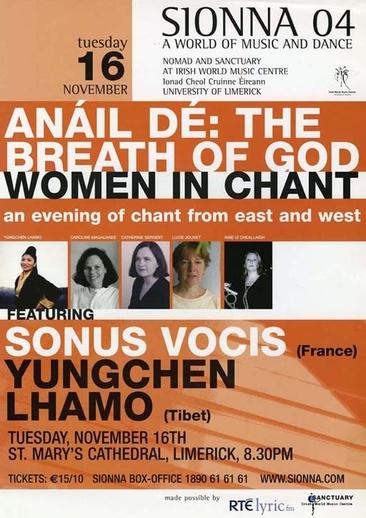 Anáil Dé, event poster