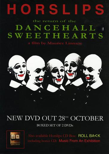 Horslips, group, DVD promotional poster