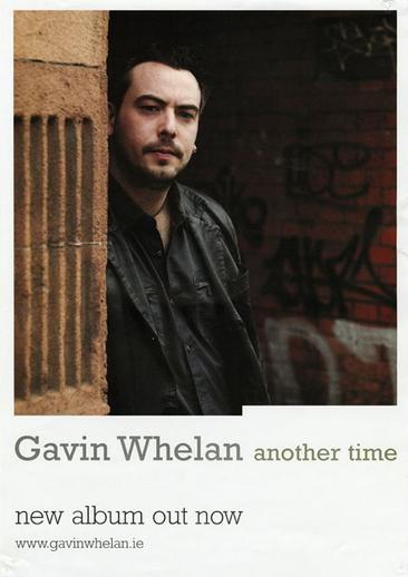 Gavin Whelan, whistle, CD promotional poster