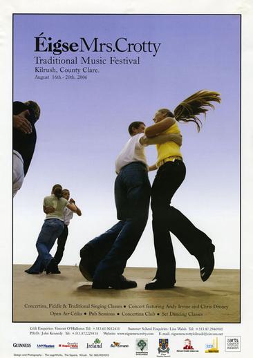 Éigse Mrs. Crotty, 2006, event poster