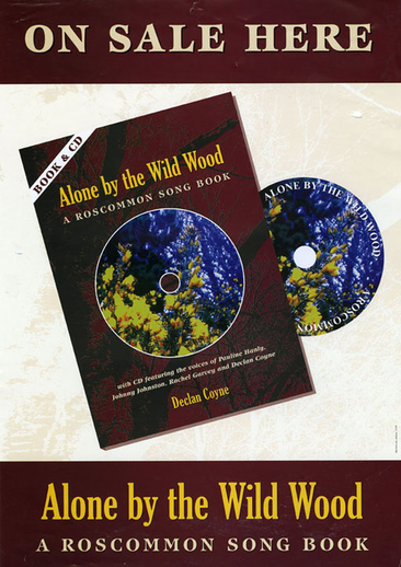 Alone by the wild wood, book promotional poster