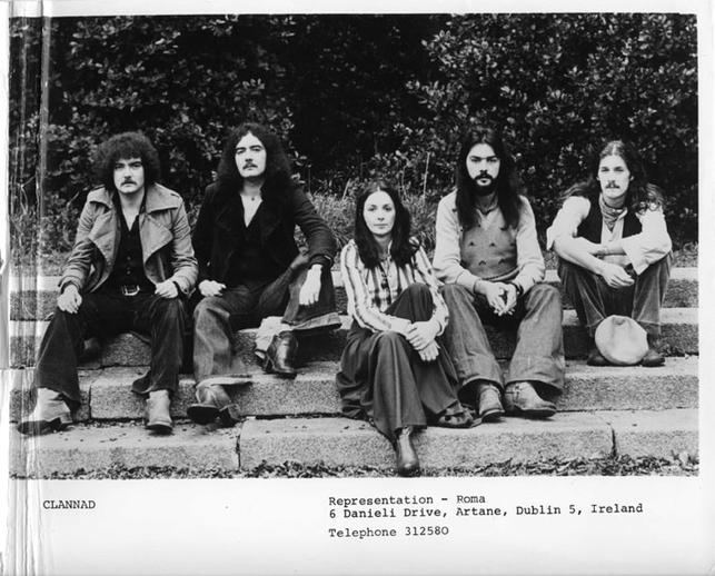 Clannad, group, ca. 1974 / Roma Ryan