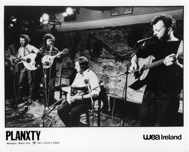 Planxty, group, ca. 1981 / unidentified photographer