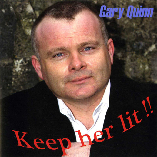 Gary Quinn, singer, 2008 / unidentified photographer