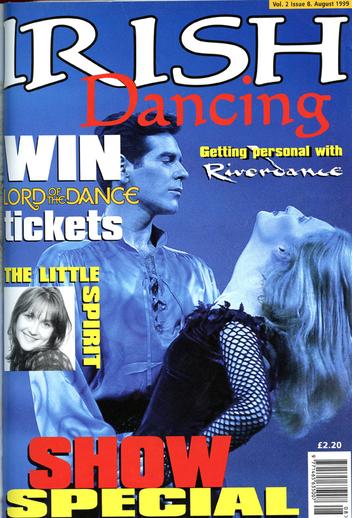 Irish dancing. Volume 2, number 8, serial cover