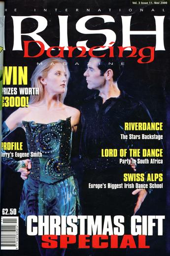 Irish dancing. Volume 3, number 11, serial cover