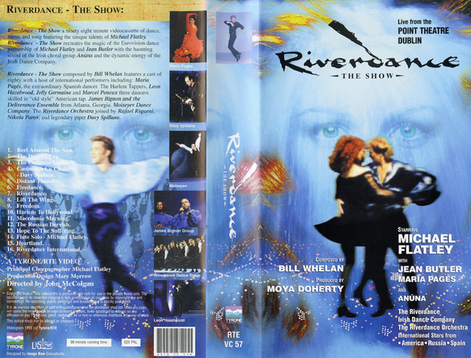 Riverdance : the show, VHS cover
