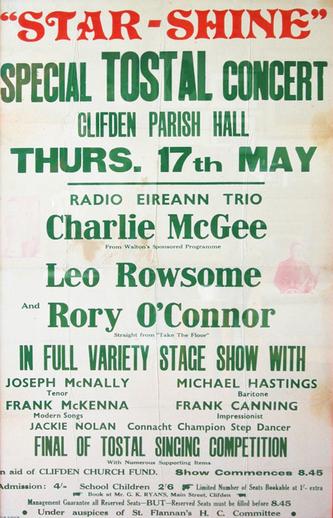 Special Tostal concert, 1956, event poster