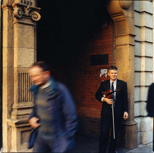 Paul O'Shaughnessy, fiddle, 2000 / Paul McCarthy