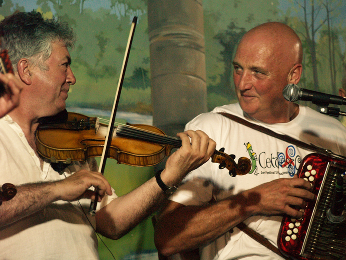 Gerry O'Connor and Breandán Begley, Tocane 2010 / [unidentified photographer]