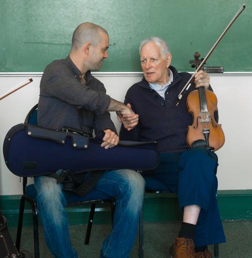 Jesse Smith and Paddy Cronin / Tony Kearns