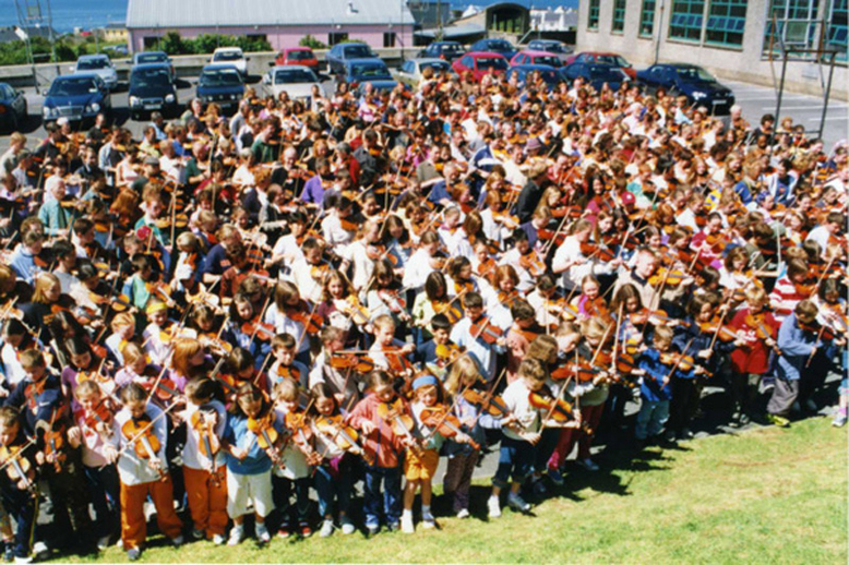 Fiddle students / Orla Henihan