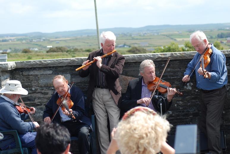 Peter Mackey, JJ Tuttle, Mick O'Connor, Seán Keane and John Kelly, 2011 / Liam McNulty photographer