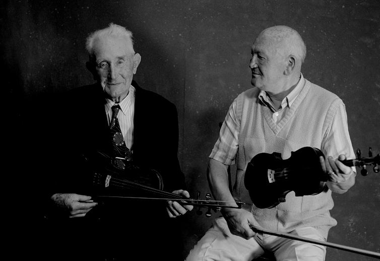 Junior Crehan and Bobby Casey, 1994 / Tony Kearns, photographer