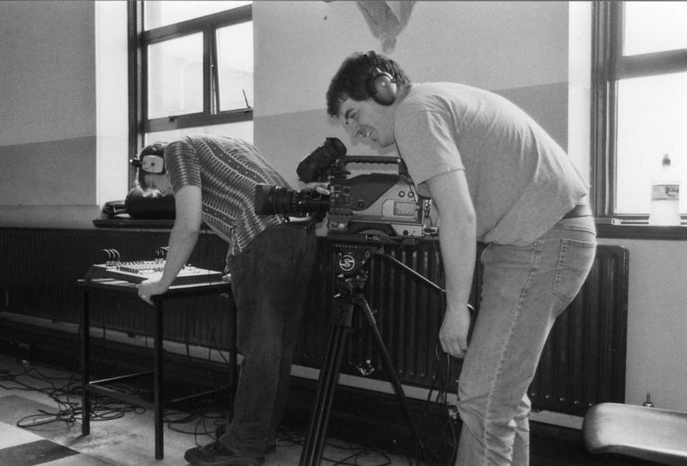 Niall Hackett and Glenn Cumiskey, 2003 / Orla Henihan, photographer