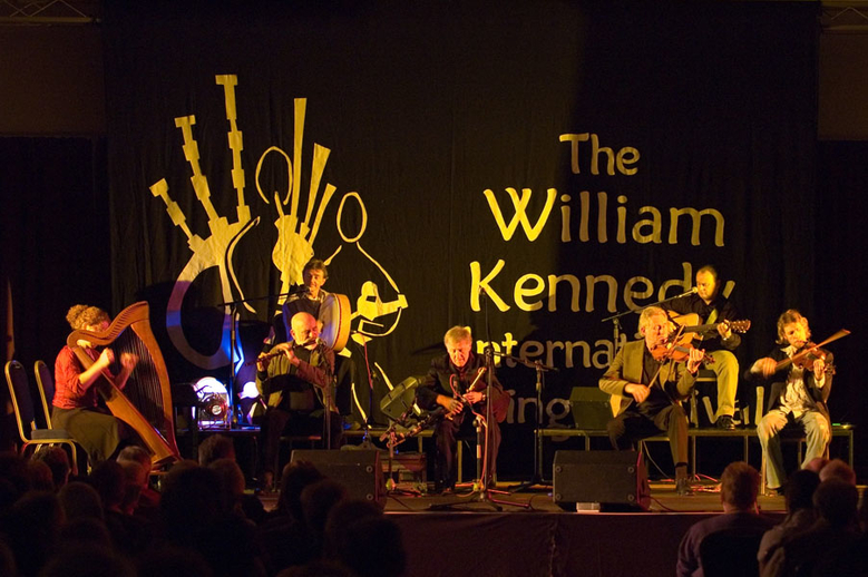 The Chieftains, group, & others, 2005 / Paul Eliasberg