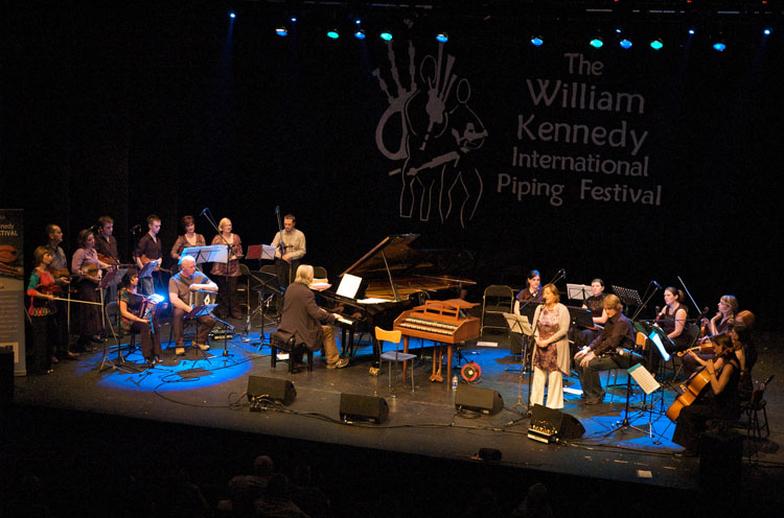 Mícheál Ó Suilleabháin, composer, & others, 2009 / Paul Eliasberg