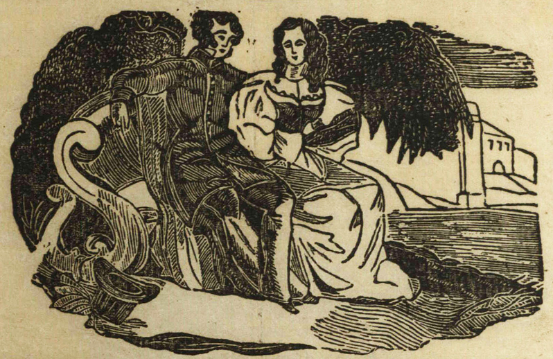 A lark for the people, woodcut