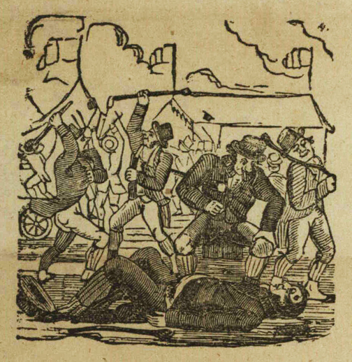 The land of old Erin, woodcut