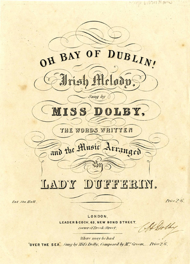 Oh Bay of Dublin, cover