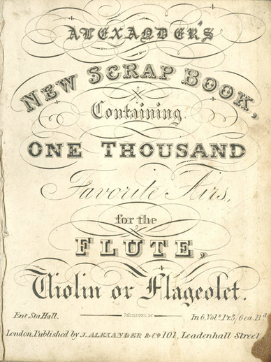 Alexander's new scrap book.  Volume 6, cover