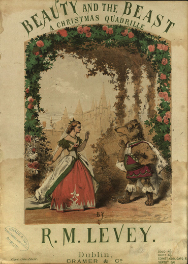Beauty and the Beast : a Christmas Quadrille, cover