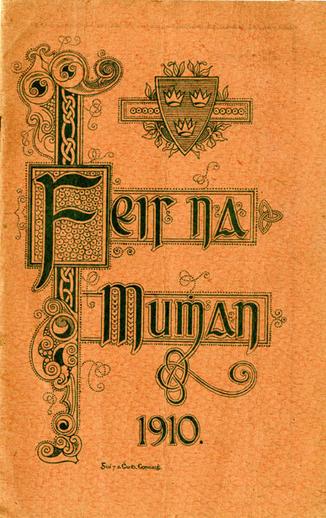 Feis na Mumhan 1910, cover