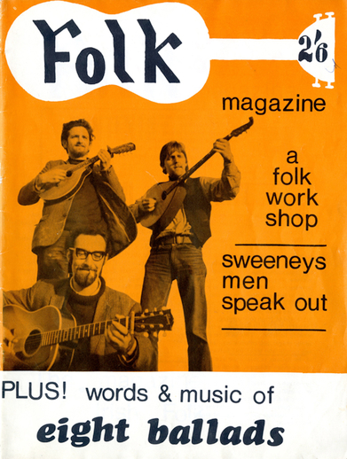 Folk magazine [vol. 1, no. 1 1967], cover