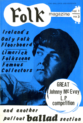 Folk magazine vol. 1, no. 3 [1967], cover