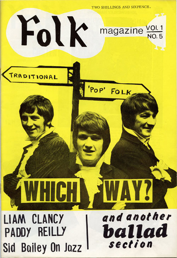 Folk magazine vol. 1, no. 5 (1968), cover