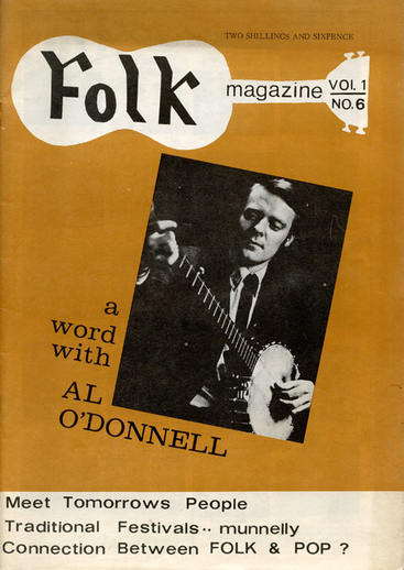 Folk magazine vol. 1, no. 6 (1968), cover