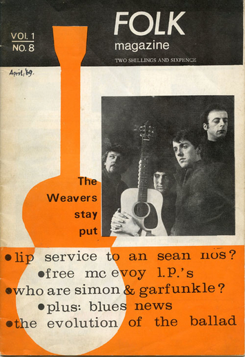 Folk magazine vol. 1, no. 8 (1969), cover
