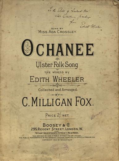 Ochanee, cover