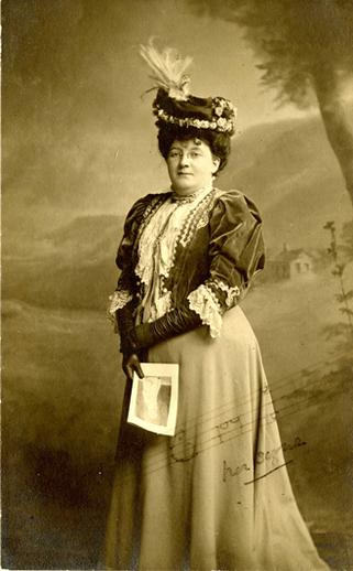 Charlotte Milligan Fox, collector / Allison