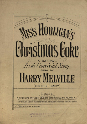 Miss Hooligan's Christmas cake, cover