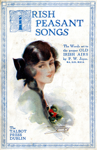Irish Peasant Songs, 1922, cover