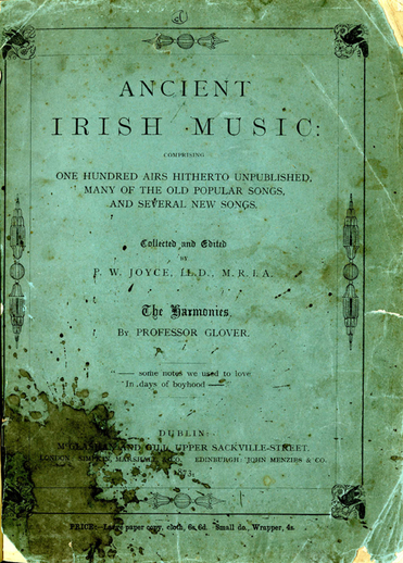Ancient Irish Music, 1873, cover
