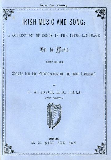 Irish Music and Song, 1901, cover
