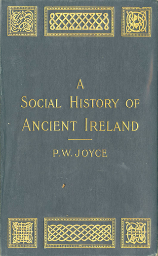A Social History of Ancient Ireland, cover