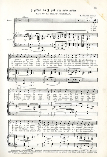 The minstrelsy of Ireland : 206 Irish songs, cover