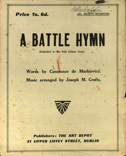 A battle hymn, cover