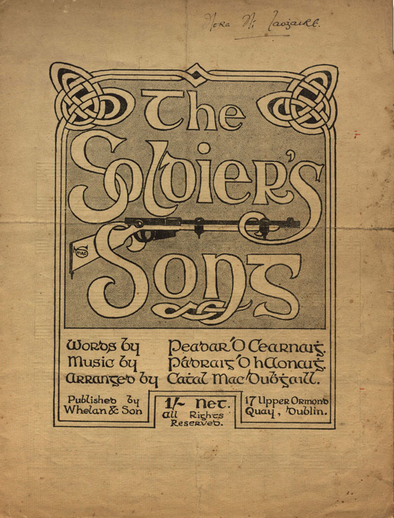 The soldier's song, cover