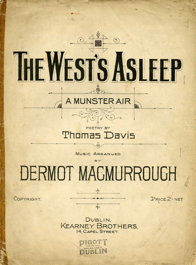 The west's asleep, cover
