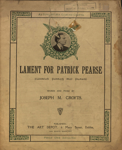 Lament for Patrick Pearse, cover