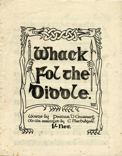 Whack fol the diddle, cover